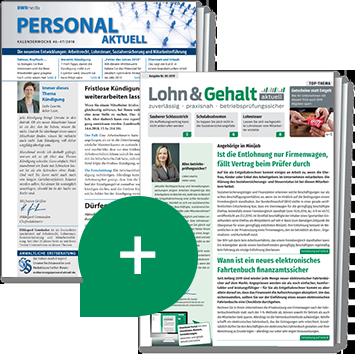 Personal aktuell + Lohn & Gehalt aktuell