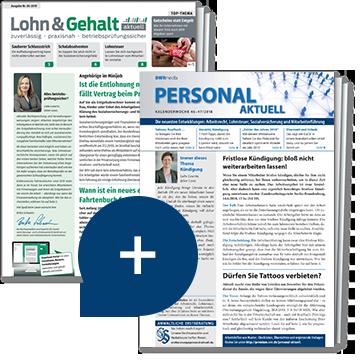 Lohn & Gehalt aktuell + Personal aktuell